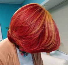 Bold color by @startrakbeauty - https://blackhairinformation.com/hairstyle-gallery/bold-color-startrakbeauty/