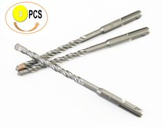 """SDS Plus Rotary Hammer Drill Bit Carbide Tipped Concrete, Masonry, Wall, Road..(6"""" Length)"""