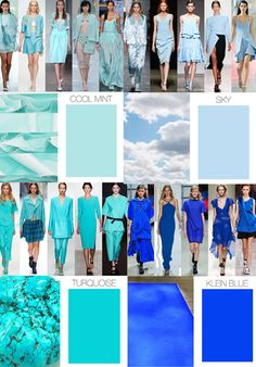 color directions for the Spring 2015 season comes from the Trend Council, a great trend forecasting agency for the fashion industry that provides both analysis and design inspiration. Loving the cool hues!