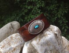 Hey, I found this really awesome Etsy listing at https://www.etsy.com/listing/203481621/southwestern-leather-cuff-bracelet-w