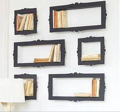 A photo frame bookshelf 6-12