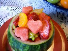 romantic fruit salad