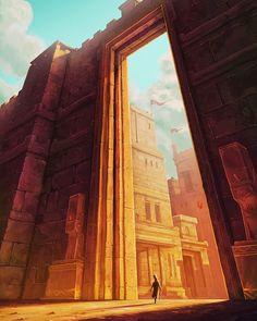 The Ancient Gate Anton Nugroho