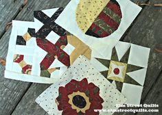 Splendid Sampler - blocks 68 - 72 | A Stitch in Time