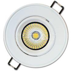 DOWNLIGHT 8W LED COB WW 3000K BLANC.550Im 113mm OR http://www.ledandcolors.com/recessed-downlight/recessed-downlight-8w-3000k-102.html  Ficha técnica  Potencia - 8 W  Intensidad de la luz (Lumen) - 520 lm  Temperatura Color (Kelvin) - 3000 K  Driver incluido - Si  CRI - mayor que 85  Marca LED - Epistar  Tipo LED - COB  Voltaje (V) - 230 V  Protección IP - IP20  Clase Eficiencia Energética - A+