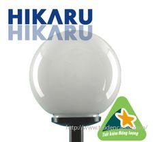 Đèn sân cầu sân vườn chiếu sáng, đèn trang trí sân vườn, đèn chiếu sáng sân vườn Hikaru