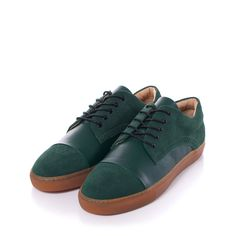 outlet store 06763 7fbaa Gram Shoes - 430g Racing Green Suede Racing Green Leather (Men) Läder Herr,