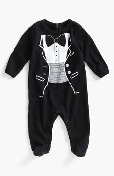 Tuxedo for your little man + easy diaper changes = win #Nordstrom #Weddings