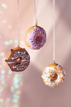 Squishy Donut Ornament | Urban Outfitters