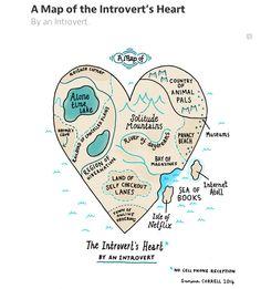 """""""A Map of an Introvert's Heart"""""""