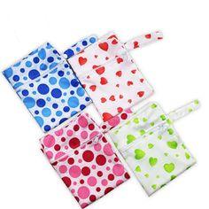 30*40cm Cloth Diaper Bag Mother Baby Stroller Outdoor Hanging Diaper Bag Reusable Menstrual Pad Waterproof Dry Wet Bag #Affiliate Reusable Menstrual Pads, Wet Bag, Diaper Bags, Cloth Diapers, Baby Strollers, Outdoor, Nursing Jobs Uk, Bags, Fabric