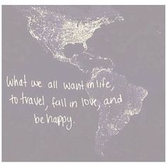 Well maybe not everyone does..#itsalliwant  #travel #love...  Instagram travelquote