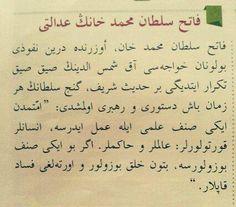 Fatih'in adaleti