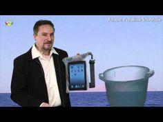 AquaPac Wasserschutz für iPad auf Tauchgang bis 5 Meter
