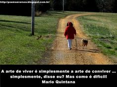 Poemas e Versos : Mario Quintana - A arte de  viver