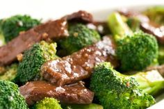 Broccoli Beef on Simply Recipes B made this tonight, was really good.we didn't have rice wine, so he used rice wine vinegar. sisn't seem to affect the flavor.
