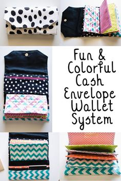ADORE this Dave Ramsey Cash Envelope Wallet. I love the teal chevron! Diy Cash Envelope Wallet, Money Envelope System, Sew Wallet, Cash Wallet, Money Envelopes, Budget Envelopes, Textiles, Sewing Projects For Beginners, Sewing Patterns Free