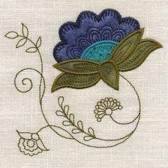 OregonPatchWorks.com - Sets - Applique Jacobean Elegance