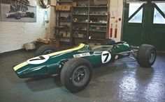 Few racing cars are as iconic as the Lotus-Climax Type 33, chassis number R11, the car driven by Jim Clark to first place in the 1965 Belgian, British, German and Syracuse Grands Prix and the Lotus in which he won his second Formula 1 World Championship.