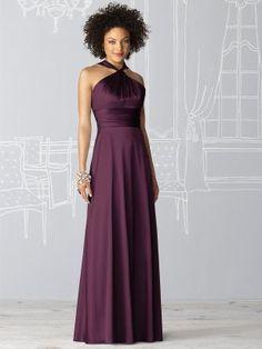 Love it! After Six Bridesmaid Dress 6624: bordeaux--This is gorgeous!