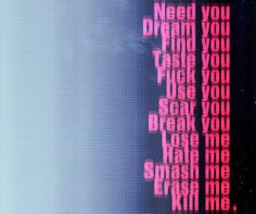 Nine Inch Nails, Eraser