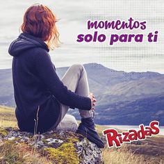 A veces y solo a veces quieres tener un momento #Rizadas solo para ti
