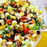 Terveellisiä herkkuja pääsiäispöytään?! Vinkkejä nyt blogissa! Healthy choises for easter? This salad among other delicious ideas on the blog, now!