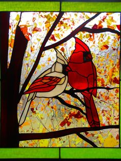 Fall Cardinals - Delphi Artist Gallery