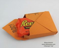 Envelope Punch Board~ Makes A Great Treat Box