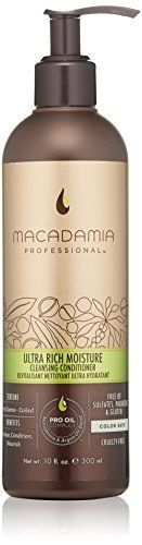 Macadamia Professional Ultra Rich Moisture Cleansing Conditioner 10 fl oz -- Continue to the product at the image link.Note:It is affiliate link to Amazon.