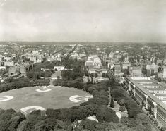 Northern View of the District of Columbia from the Washington Monument_c1942