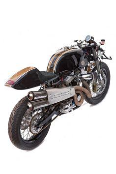 Harley as cafe racer.