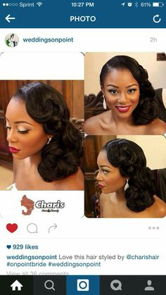 44 Ideas For Wedding Makeup African American Black Natural Hair Styles natural hair wedding styles african american Natural Hair Wedding, Wedding Hair And Makeup, Bridal Makeup, Wedding Nails, Wedding Updo, Hair Makeup, African American Brides, African American Hairstyles, African American Makeup