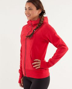 I must get the Scuba Hoodie in currant! Already sold out in my size but need for football season!!:)