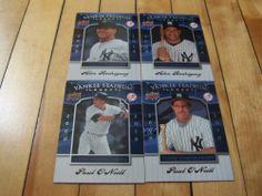 #AlexRodriguez Paul O'Neill #2008 Upper Deck Yankee Stadium Legacy 4 Card Lot | #eBay #ARod #NewYorkYankees