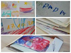"""""""Mama, ich hab dir ein Bild gemalt!"""" Kinderzeichnungen als Geschenk (+ Give-Away!)"""