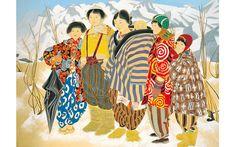 中島清之  Nakajima, Kiyoshi (1899-1989) 雪国の子(晴雪), Snow country, around 1946