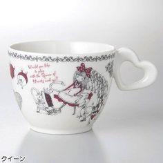 Shinzi Katoh Design Alice in Wonderland Queen Mug Cup