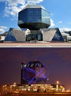 Biblioteca Nacional da Bielorrússia, Minsk, Bielorrússia