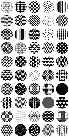 Doodle Patterns 302796774946108433 - 50 Geometric B&W Seamless Patterns by Olka on Creative Market Source by Doodle Art Drawing, Zentangle Drawings, Mandala Drawing, Zentangle Patterns, Easy Zentangle, Drawing Ideas, Drawing Poses, Mandala Doodle, Tangle Doodle