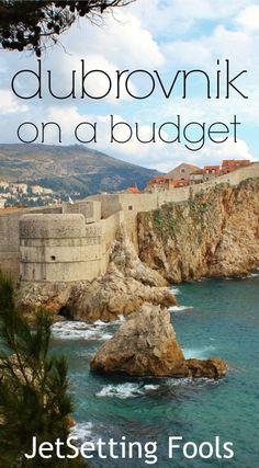 Dubrovnik Croatia on a budget JetSetting Fools