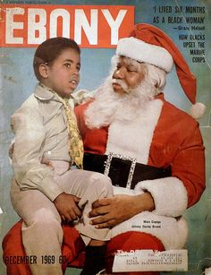 Ebony Magazine Christmas cover, December Marc Copage is the child actor of the Julia tv series with Diahann Carroll. He was adorable.