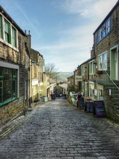 Haworth, England: The Tiny Town That Inspired Every Single Bronte Sister Novel http://yhoo.it/1l38eFF