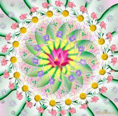 Мандала для позитивного мышления и энергии радости