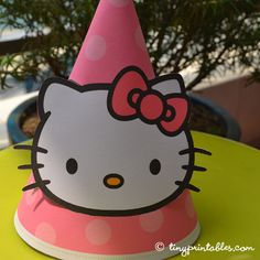 hello kitty birthday party hats