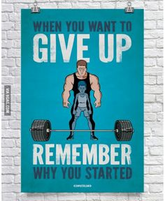 Never forget your #motivation #perspective #endurance #encouragement #Dontstop #weights #exercise #health #fitness
