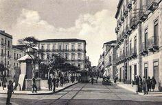 Catania's old pic, via Umberto Catania, Homeland, Street View, City, Image, Cities