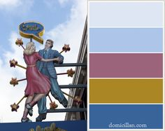 Colors of the City: Blueberry Hill on the Delmar Loop in St. Louis