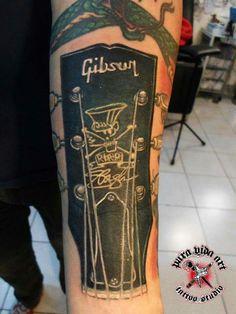 Gibson tattoo