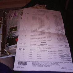 Our Macy's wedding registry
